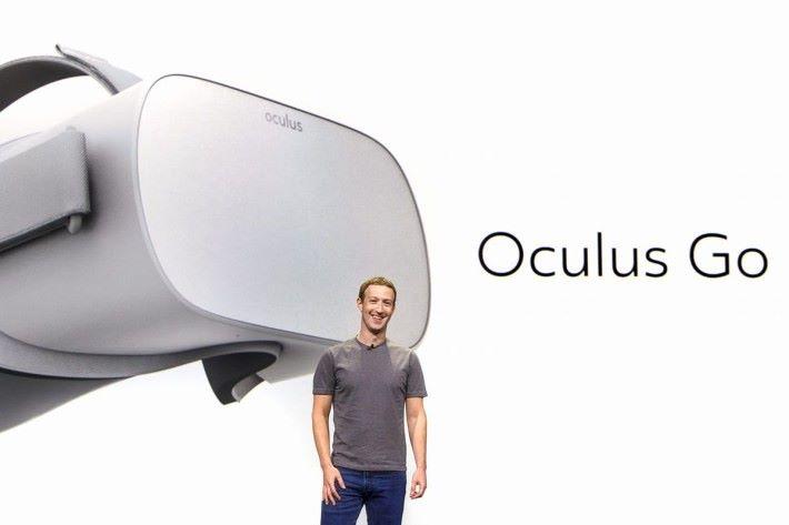 獨立式 VR 裝置 Oculus Go