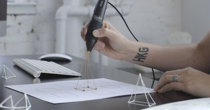 筆身配有強力的冷卻風扇,能控制物料的冷卻速度。
