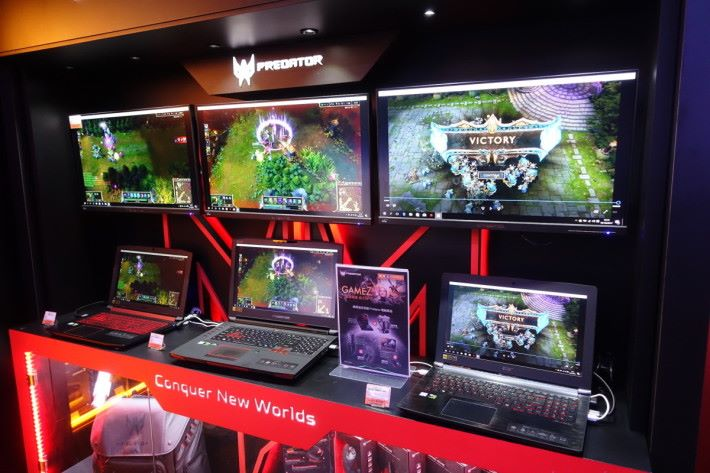 多個品牌的產品都可以在 Gamez 內找到!