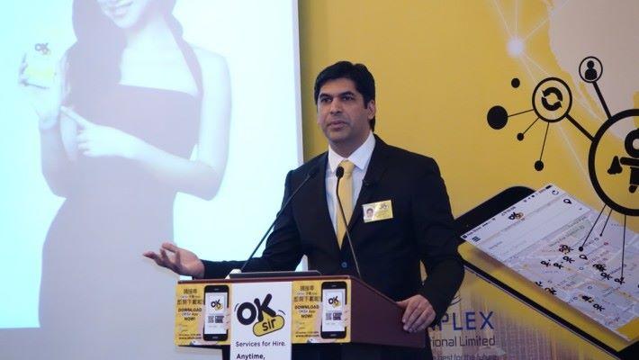 《OKSir》創辦人 Arun Kapoor 看好香港在手機應用和網上購物的發展。