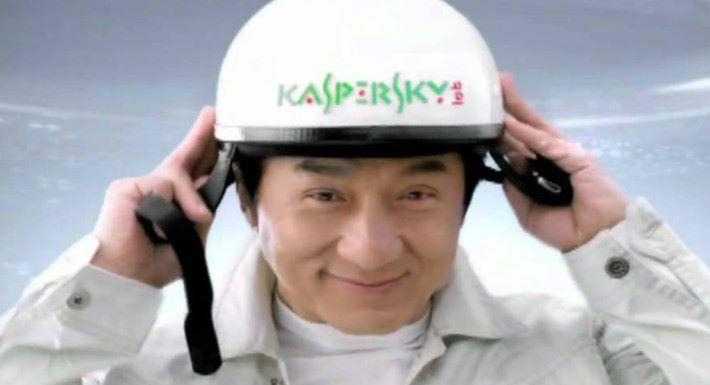 2011年,卡巴斯基曾邀請成龍作代言人...