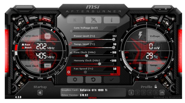 不少人都會用 Software,如 MSI Afterburner,進行手動超頻。
