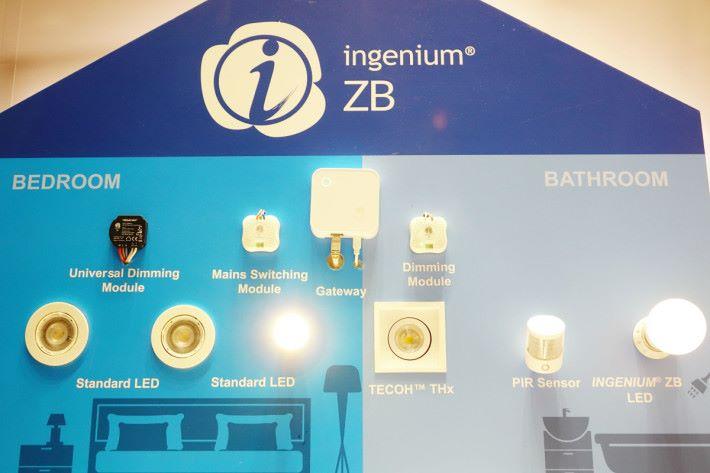 利用曼佳美的熒智 ZB 智能照明方案,就能輕易控制全屋照明。