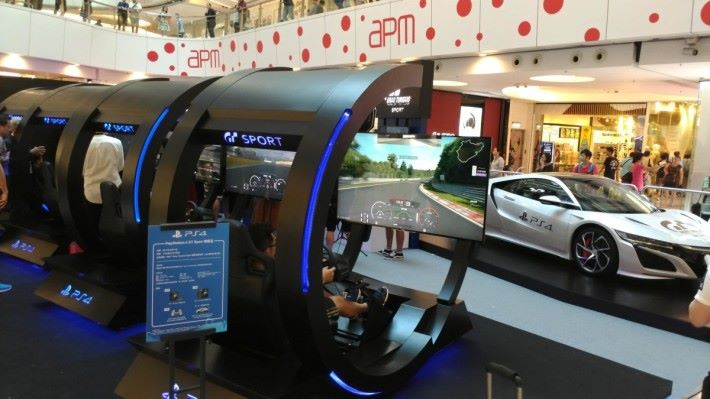 Gran Turismo Sport 無限極速地帶免費開放予公眾試玩,大家可於擬真駕駛倉體驗《GT Sport》。