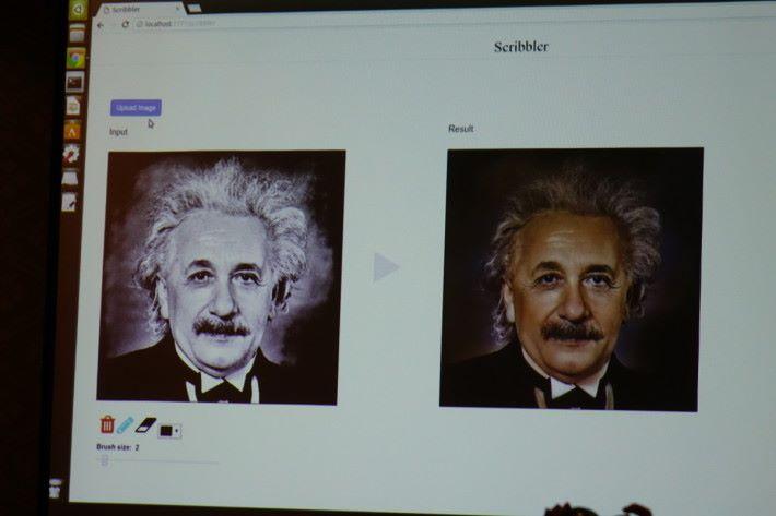 連愛因斯坦都能從黑白照準確變成彩色。