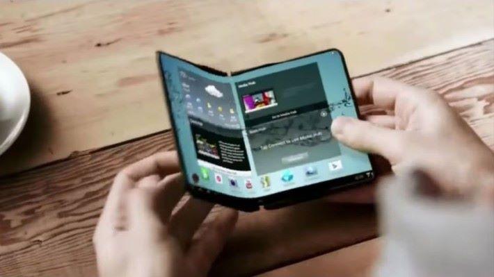 摺疊屏幕將會是手機的新潮流嗎 ?