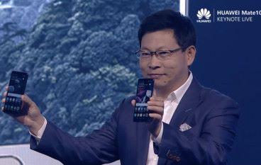 人工智能加持 Huawei 公布最強旗艦 Mate 10 系列