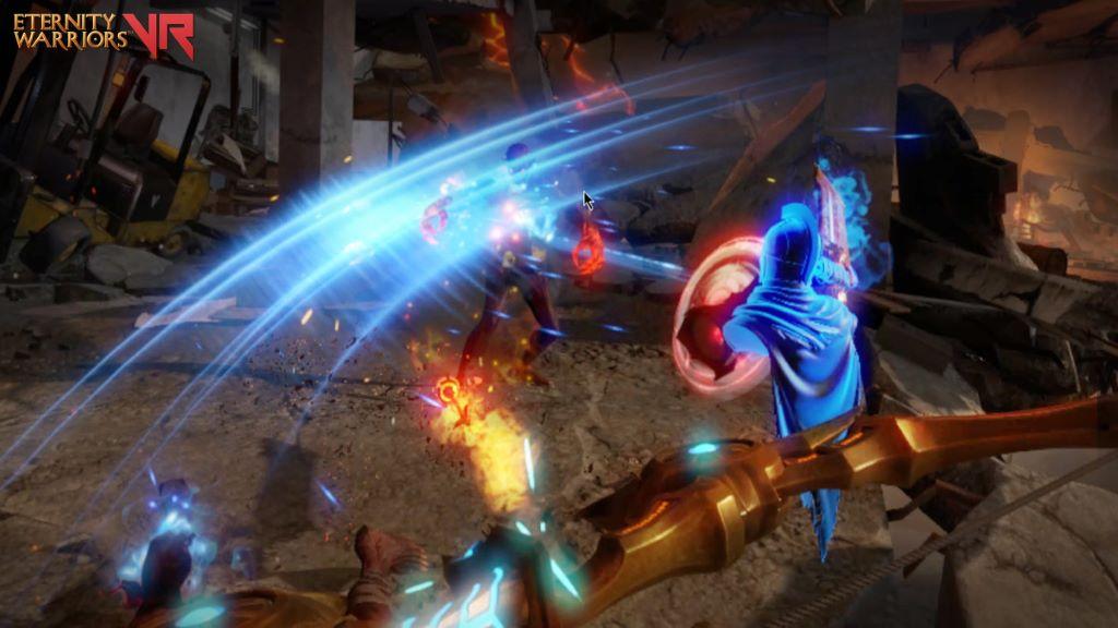 《Eternity Warriors VR》的奇幻風格及畫面效果出色,必玩的 VR 遊戲之一。