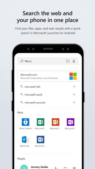 在畫面向下撥可以一元搜尋本機上的檔案、軟件和網上搜尋結果⋯⋯又係好似 iOS 的 Spotlight 。