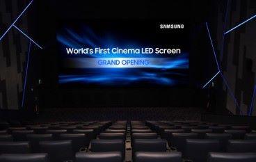 Samsung 全力打造 全球首家 406吋 LED 屏幕戲院