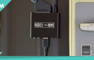 【老餅時間】舊遊戲機新補品 RGB21 – HDMI 轉換器