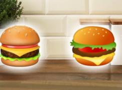 芝士放上面定牛肉放上面?芝堡 Emoji 竟成網絡熱話?