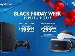 【感恩節爆買】PS4 、 PS VR Black Friday 前後減 US$100