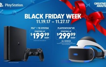 【感恩節爆買】PS4 、 PS VR Black Friday 前後減 US$100