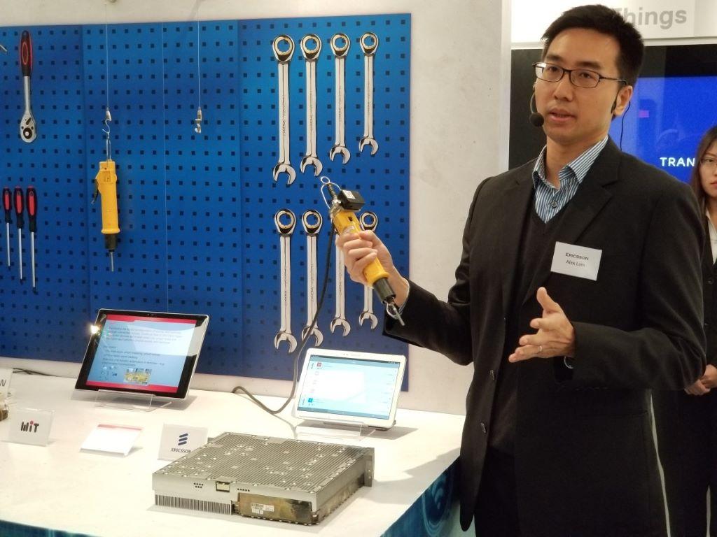 其中有自動追蹤或監控工具、提升工具保養效能的互聯式螺絲批。