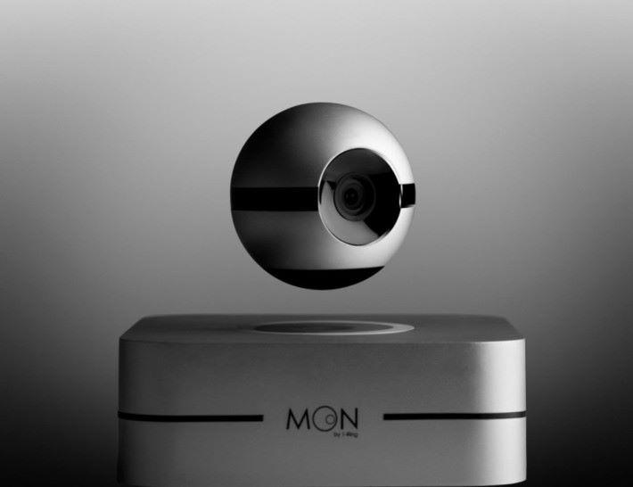 利用磁力懸浮的監察攝影機