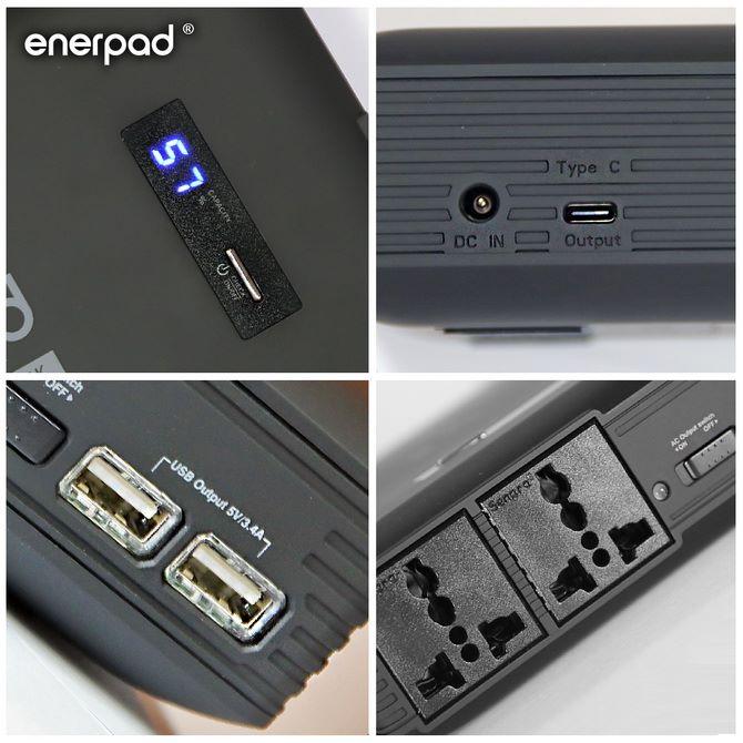 備有 USB Type-C 及 USB 充電插口