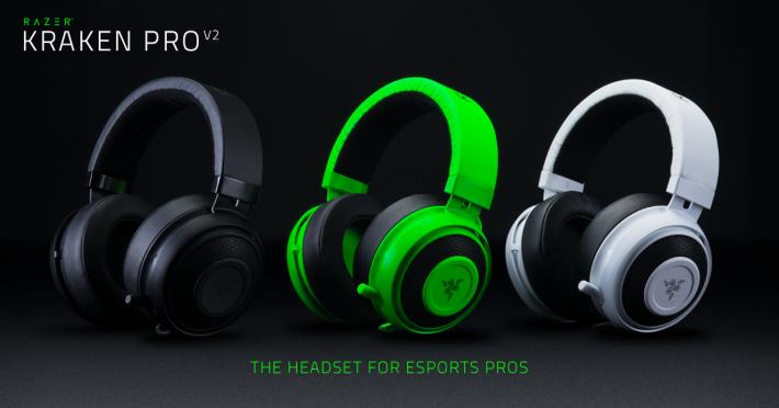 Razer Kraken 系列耳機為旗下最熱門電競耳機。