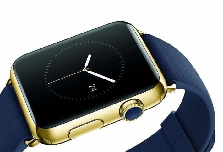 價值 $17,000 美元的黃金版 Apple Watch