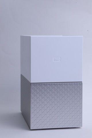 WD My Cloud Home 的設計風格與其外置硬碟相似。