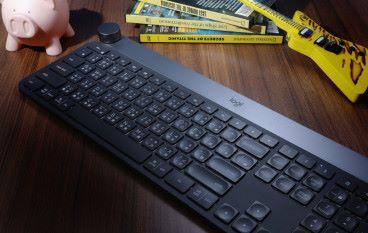 會令人用上癮的鍵盤 Logitech CRAFT 旋扭加持用途多