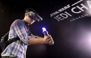 Lenovo × 星戰《絕地挑戰》AR 科技襲香港