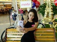 免費印製自拍明信片 Meitu T8s 自拍手機體驗展覽