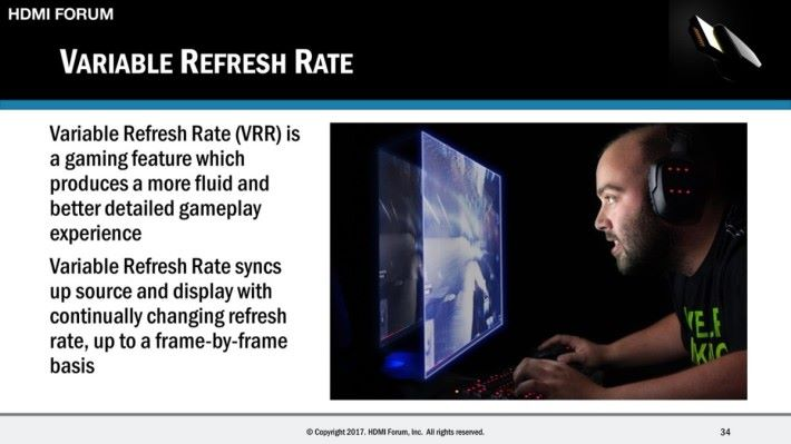 VRR 技術能令遊戲體驗更流暢。