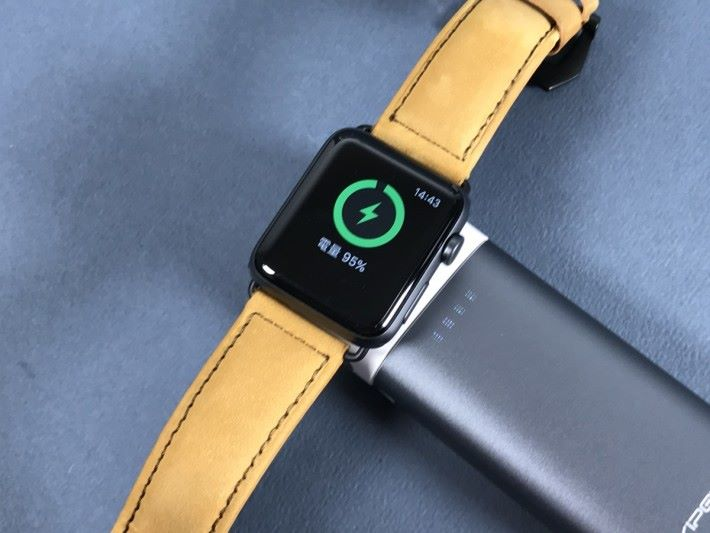 可以為 Apple Watch 充電
