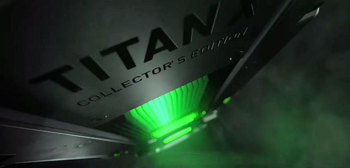 新卡寫著「TITAN X Collector's Edition」。