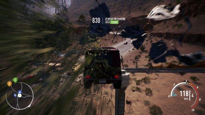在地圖上毀掉所有路牌都是遊戲中的樂趣之一。