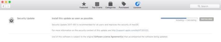 Apple 迅速推出更新堵塞這次漏洞