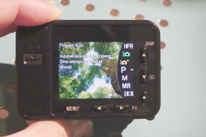 雖然 RX0 主打拍片,但不乏各種拍攝模式。
