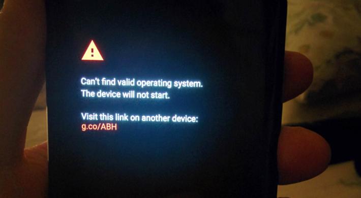 部份外國用家收到的 Pixel 2 XL 手機竟然沒有安裝作業系統。