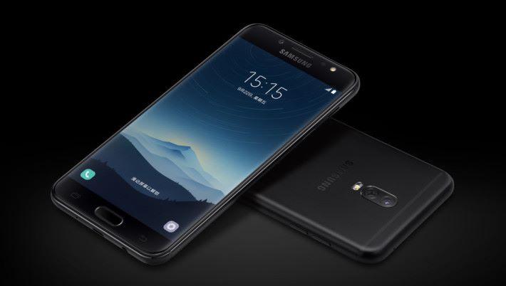 中國市場率先開賣的 Galaxy C8 是 Samsung 首部雙鏡頭手機。