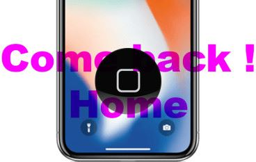 iPhone X Home 掣復活!!