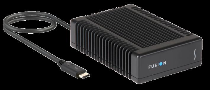鮮有支援 Thunderbolt 3 的硬碟機產品。