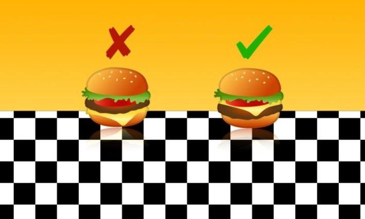 修正之後的 芝士漢堡 Emoji。