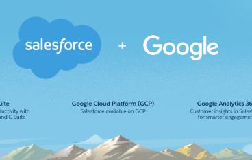 Salesforce與Google結盟 擴展國際市場