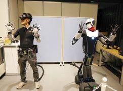 日本開發遙距離同步機械人
