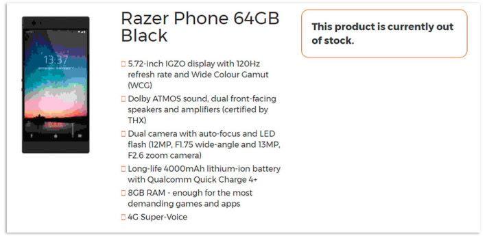 將推出的 Razer Phone 打著「遊戲手機」名號,以強力硬件規格上市,但到底什麼遊戲需要用到這個規格呢?