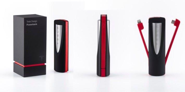 Tesla 推出的流動充電池