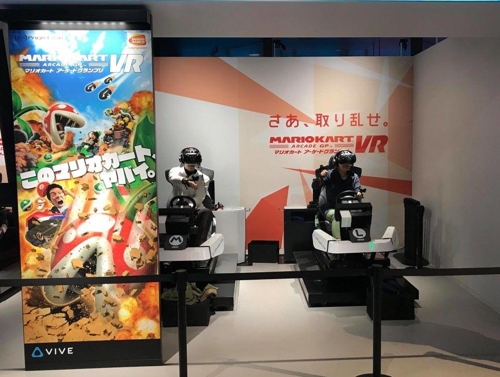 戴上 VIVE 以第一身方式玩《Mario Kart》絕對係必玩。