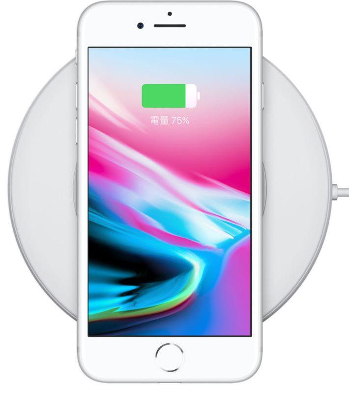 iPhone 8 及 iPhone X 都支援無線充電功能。