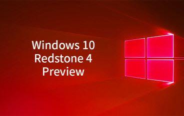 Windows 10 紅石 4 大型更新搶鮮預覽