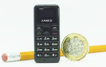 世界最小手機  Zanco tiny t1 眾籌中