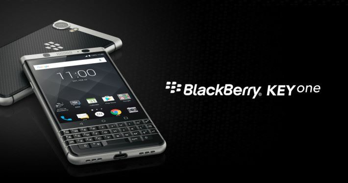 BlackBerry 呼籲舊機用戶升級至 Android 平台的 BlackBerry KeyOne 或 BlackBerry Motion 手機
