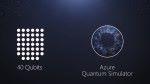 Microsoft Azure 提供 40 量子位元運算能力的模擬器