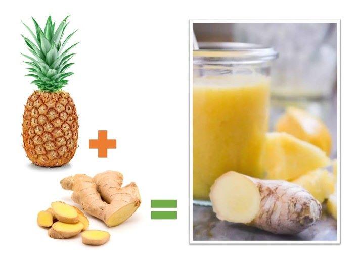 菠蘿蛋白酶有止咳效果,可以自製菠蘿汁加入薑片或天然蜂蜜,比起藥物糖漿來紓緩咳嗽症狀更加健康。