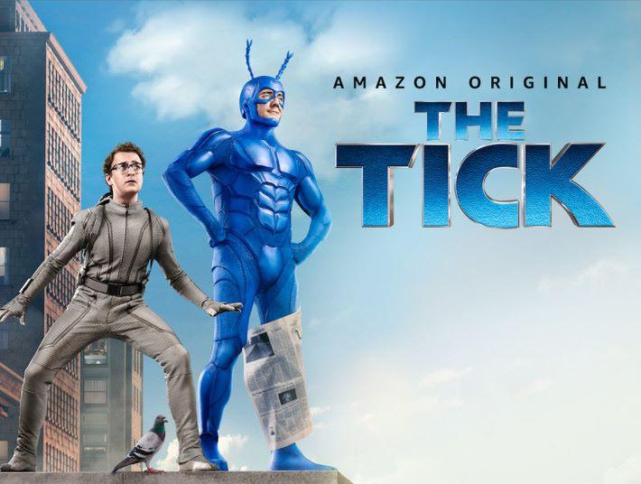 The Tick 是香港能夠收看的 Amazon 原創節目